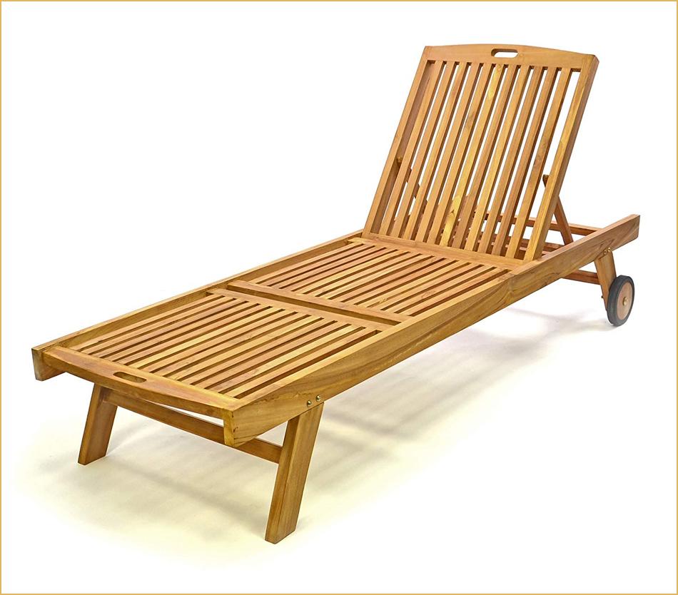 Relaxliege für Garten, Terrasse und Pool