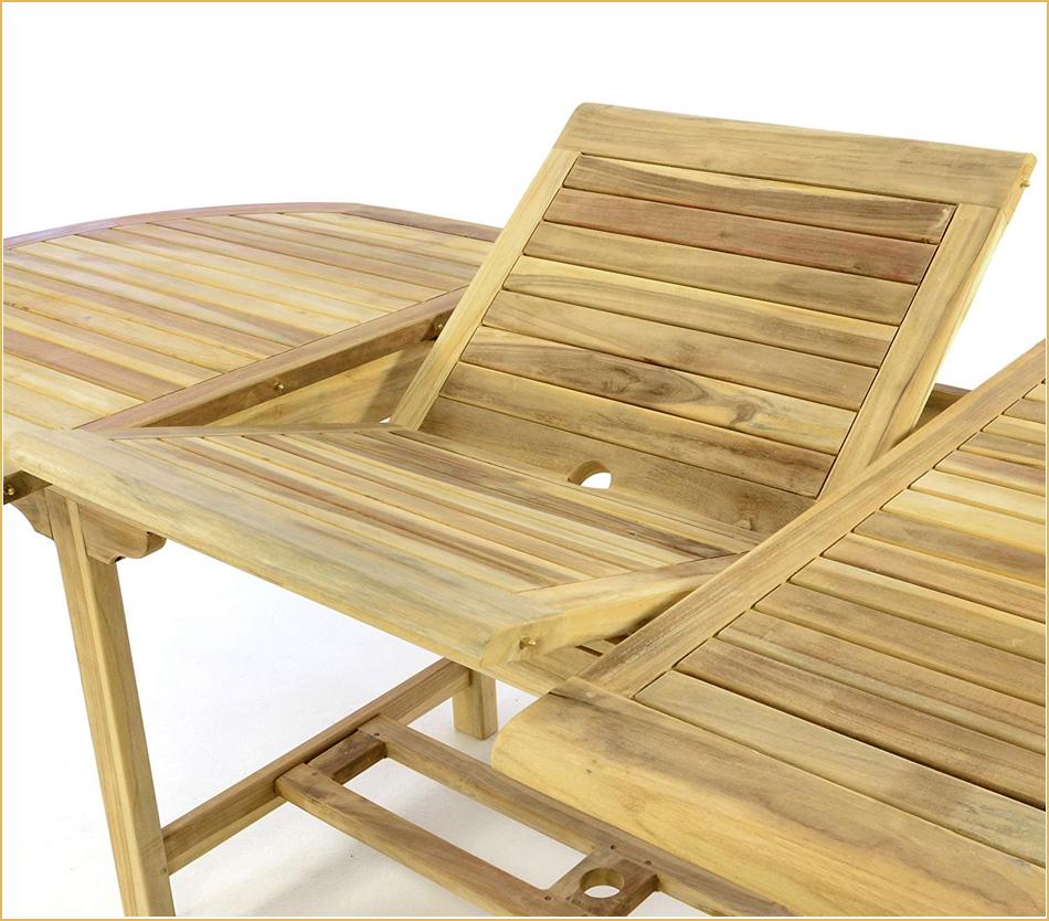 Erweiterbare Tischplatte