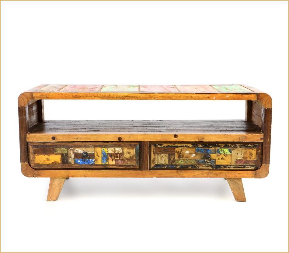 Bootsholz-Möbel aus Indonesien