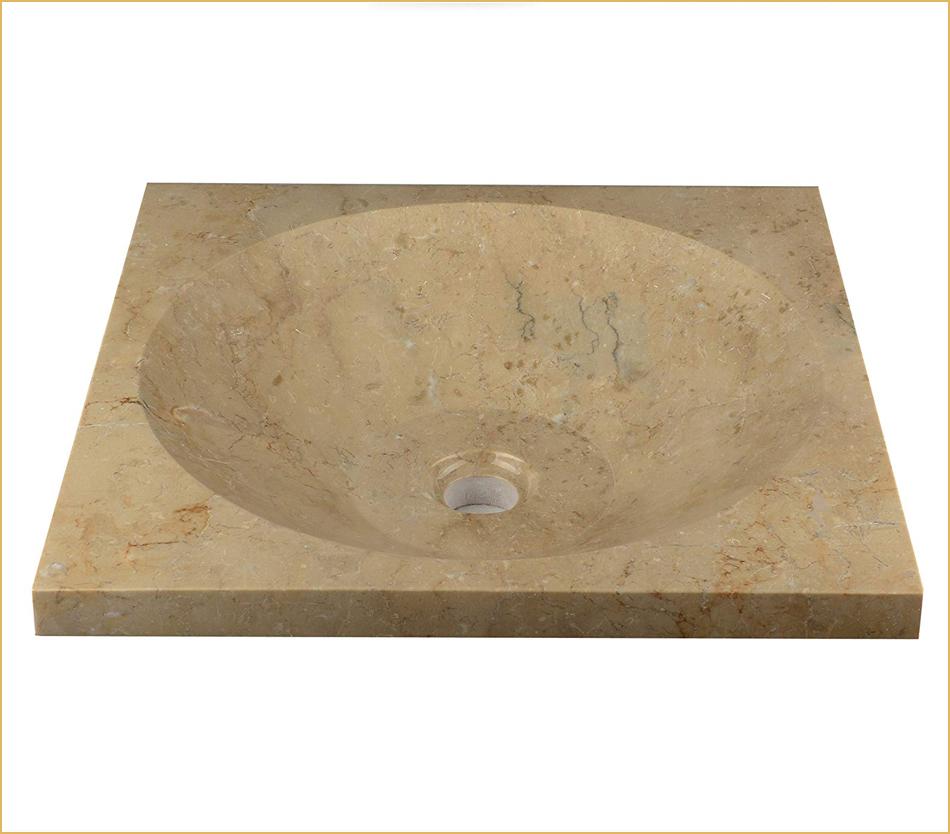 Marmorwaschbecken rechteckig