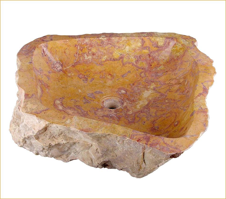 Waschbecken so individuell, wie der Stein aus dem sie bestehen